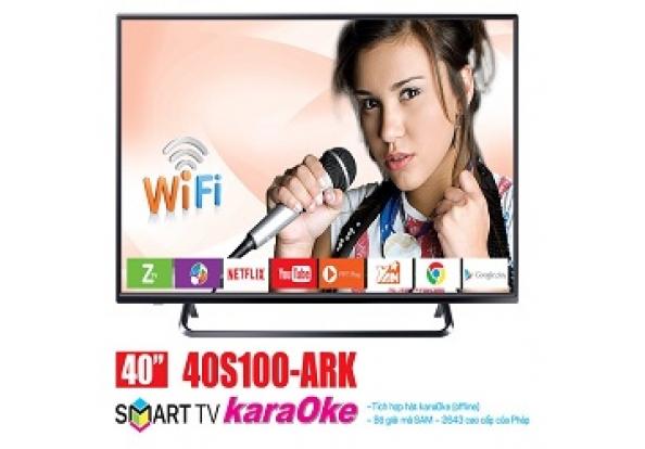 Smart tivi nanomax 43 inch led T2-karaoke offline